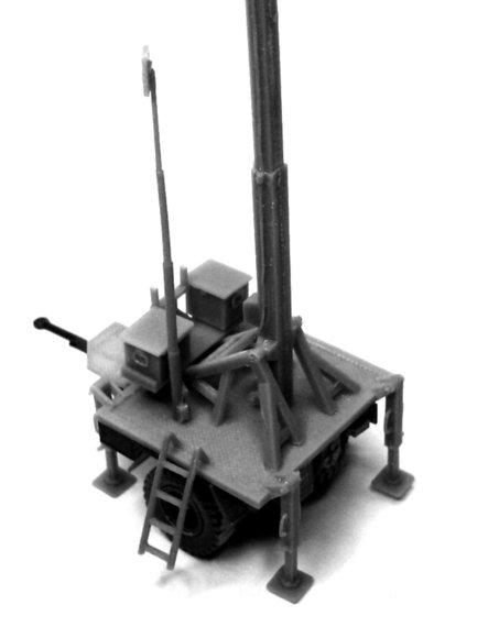 SYSTEM LUNA: Anhänger 1t. mit Antennenmast