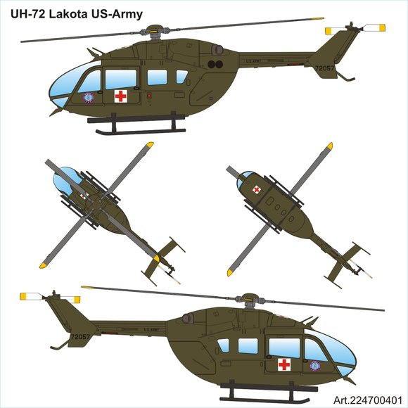 UH-72 Lakota US-ARMY SUH