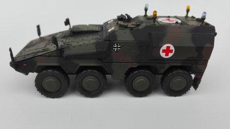 BOXER Sanitätsfahrzeug - Fertigmodell in NATO-FTA