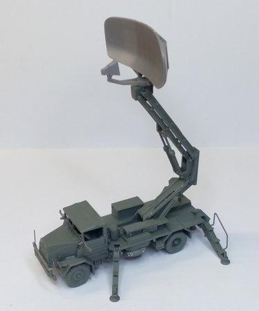 MAN 630 mit Tieffliegermelderadar MPDR 30/1