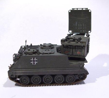 M113 GREEN ARCHER Artilleriebeobachtungsradar