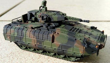 Fertigmodell SPZ PUMA in NATO-FTA