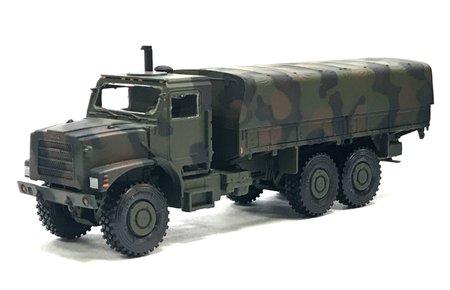 OSHKOSH MTVR Mk.27 langer Radstand Pritsche/Plane als Fertigmodell in NATO-FTA