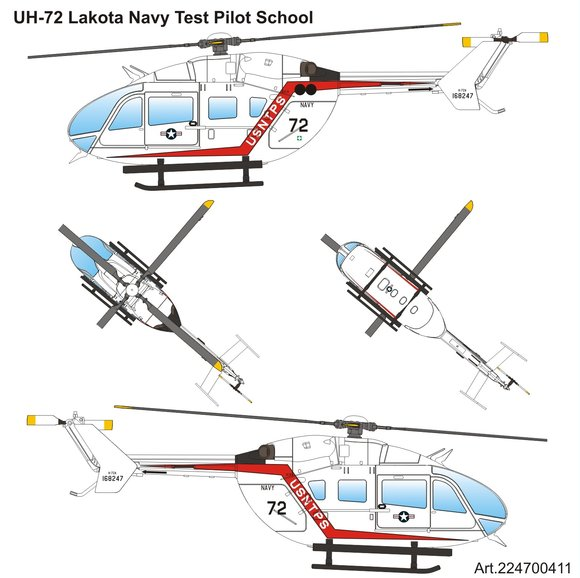 UH-72 Lakota US-Navy-Test-Pilot-School
